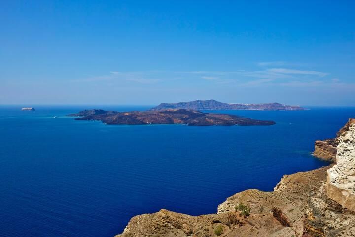 Our Villa Santorini - Akrotiri - Aamiaismajoitus
