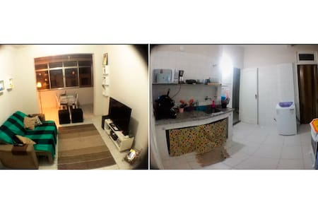 Copacabana's good spot - Beach & Subway nearby - Apartment