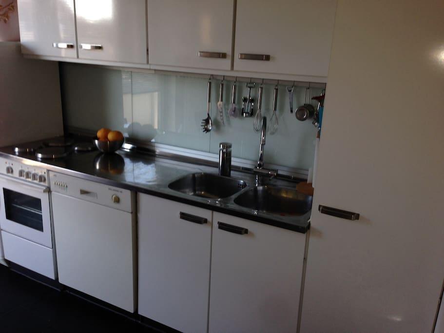Grosse Wohnküche; Big kitchen