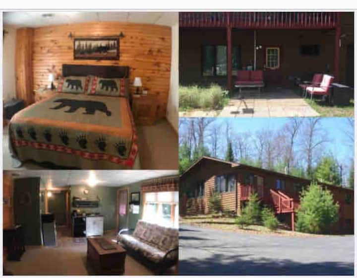 WI Northwoods Suite Retreat by Big St Germain Lake