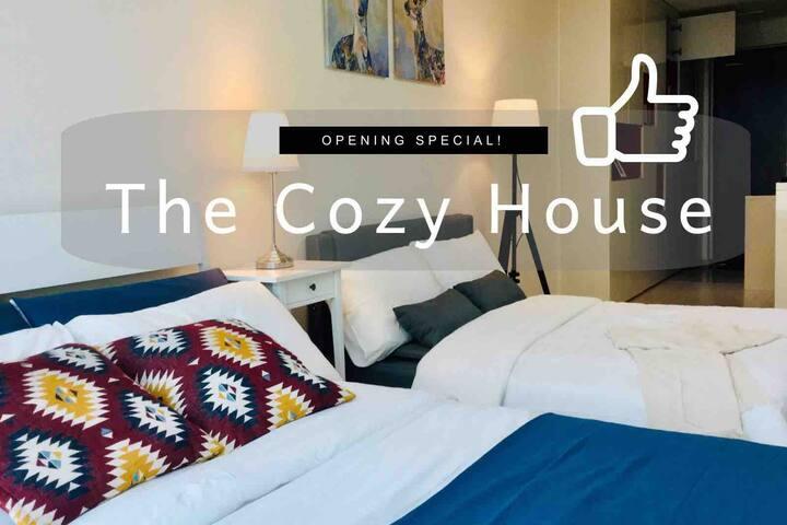 편안한 New Cozy-house•Spacious & Bright •New open!