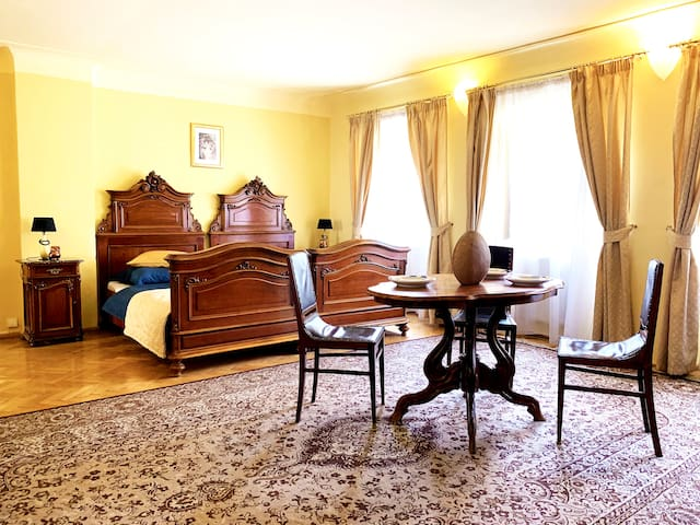 Prague Castle/Charles bridge two bedroom apartment