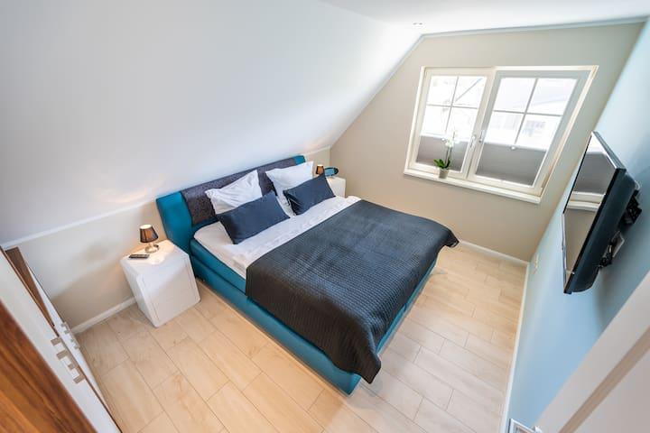 Drittes Schlafzimmer im Obergeschoss