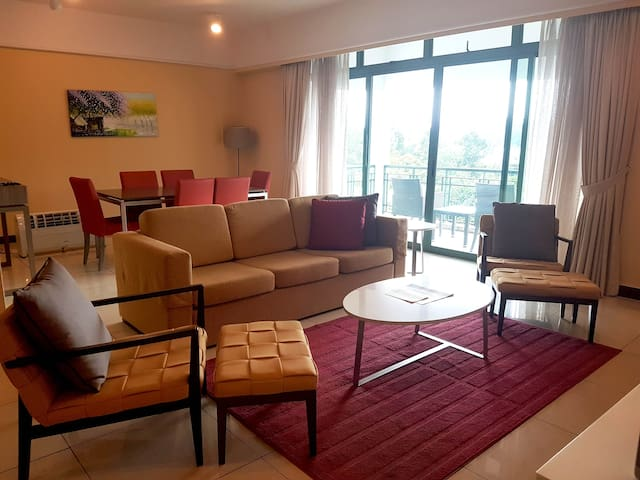 Upmarket apartment within the city