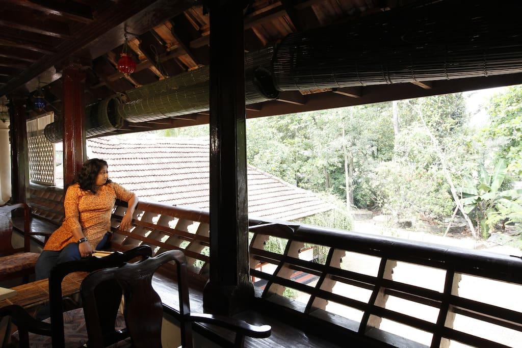 Open Veranda space