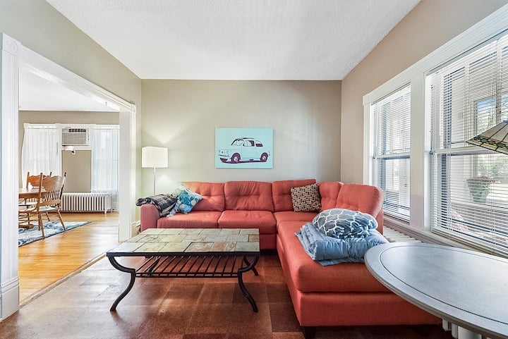 Charming Bedroom in West Seventh Home