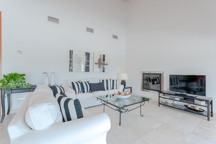 NEW! Es Rasquell: Modern finca with pool & garden