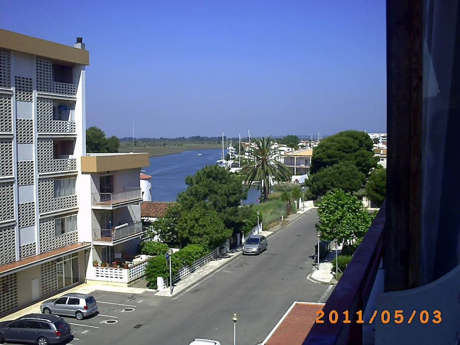View on the right from apartment