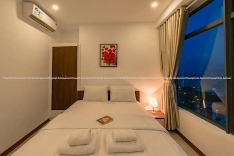 Апартаменты с видом на море Nha Trang с 2 спальнями