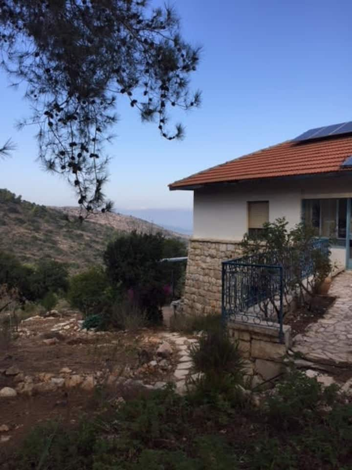 Private space in Nataf, mountains of Jerusalem