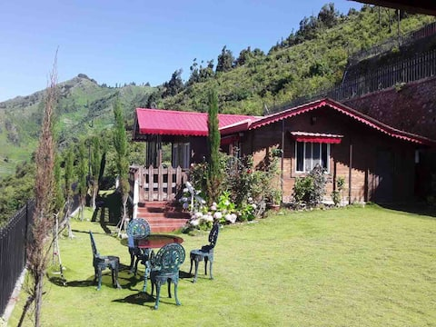 Secluded Wood Cabin near Dhanaulti