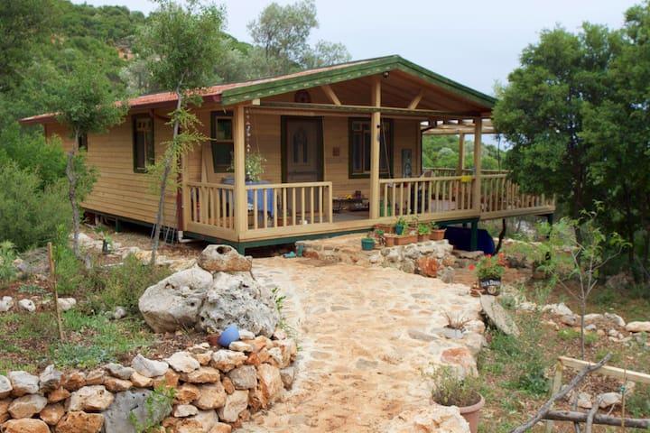 Yalnız vadide,Meis manzaralı ev - Çukurbağ Köyü - Casa
