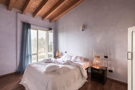 Two bedrooms aparment in farmhouse + patio