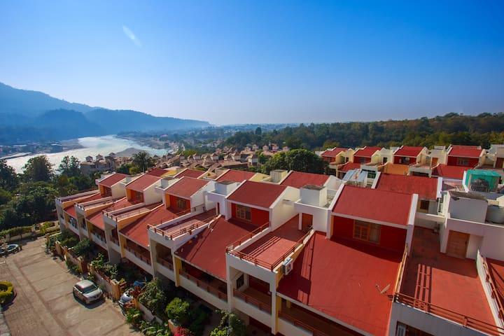 Ganga view from balcony
