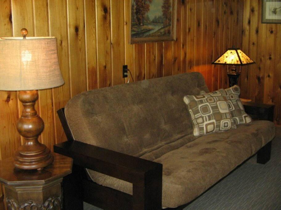 Living room sofa/double futon