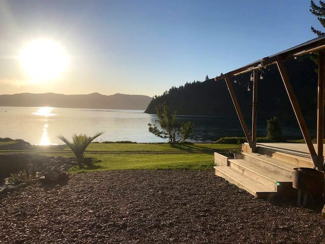 Kokowhai Bay Glamping  # Beach #sunsets #Privacy