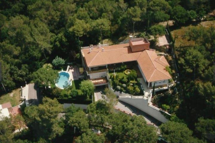 Casa, espectaculares vistas, tranquila y privada.