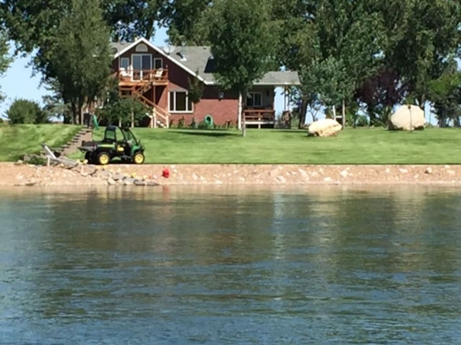 View from Missouri River