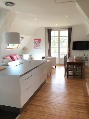 Quartier grands hôtels, 2 min plage - La Baule-Escoublac - Apartment