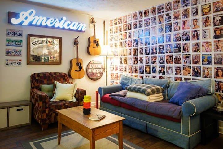 Convenient Comfort - KING BED - Nashville - Apartment