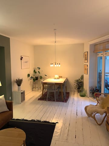 Ideal family apartment in the heart of Østerbro