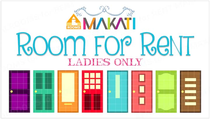 Makati Room for Rent for Ladies