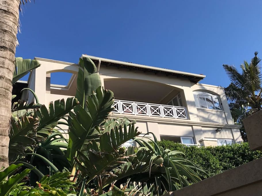 Front View - The Villas nr4 is upstairs