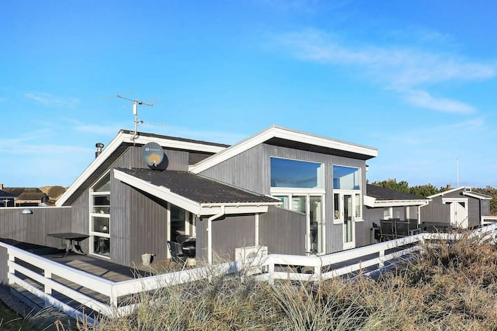 Luxurious Holiday Home in Jutland with Roofed Terrace