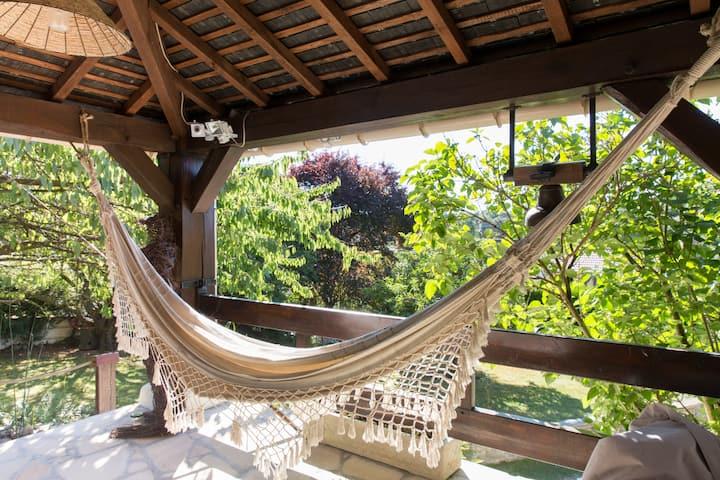 Maison Eureka Chantilly Gouvieux Jardin&cheminée