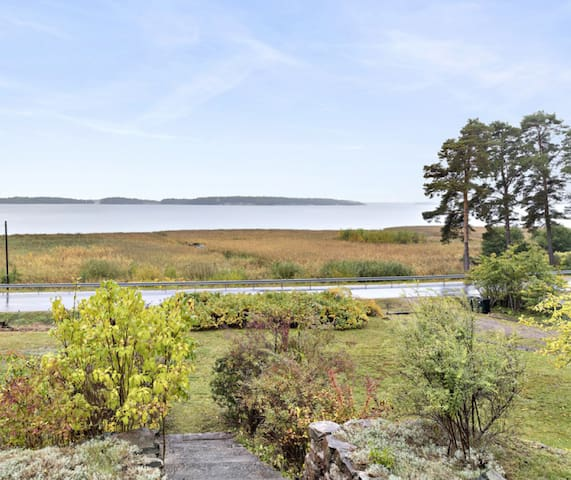 Havsutsikt i Kolmården