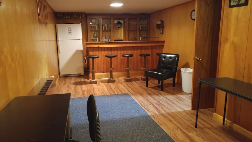 Affordable private basement apartment