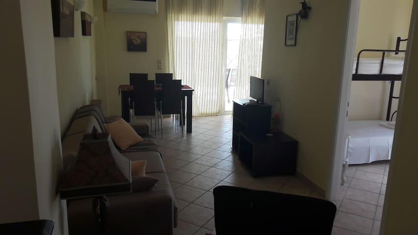 two bedroom huge balcony apartment - Agios Georgios