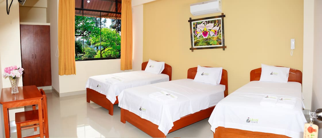 Lamas Hospedaje, 3 beds with private bathroom