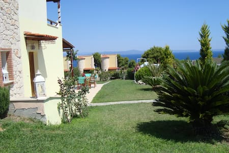 Fantastic villa with amazing view - Afytos