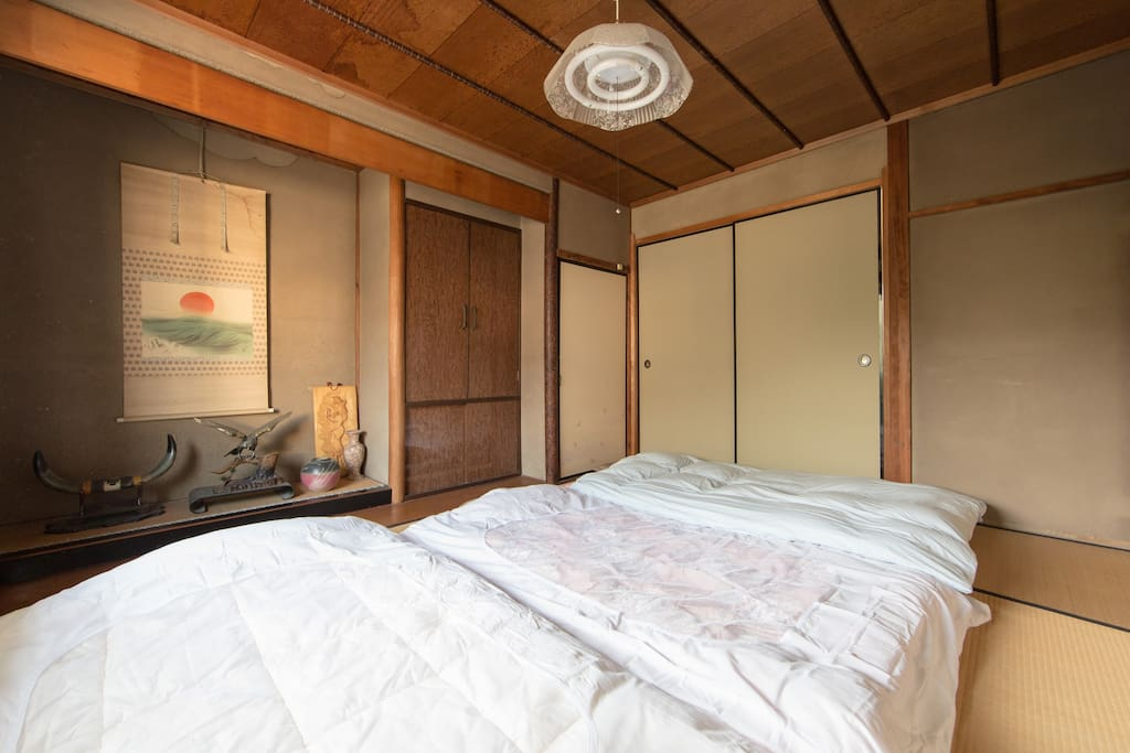 Futon  (Japanese style bed) room