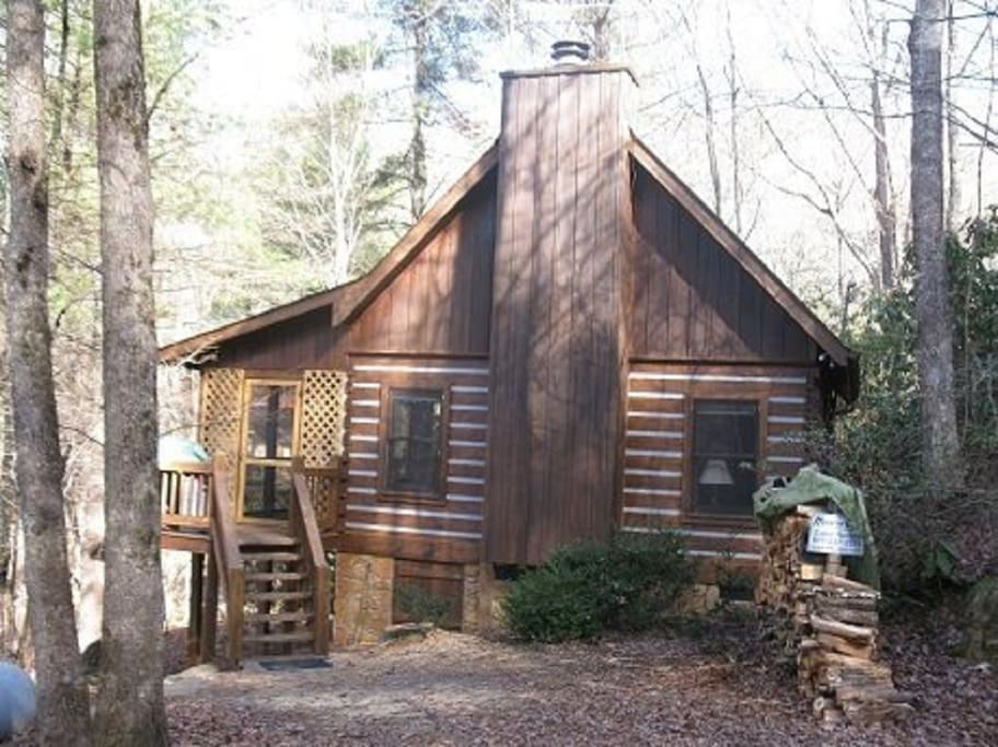 Creekside memories blue ridge cabin cabins for rent in for 8 bedroom cabins in blue ridge ga