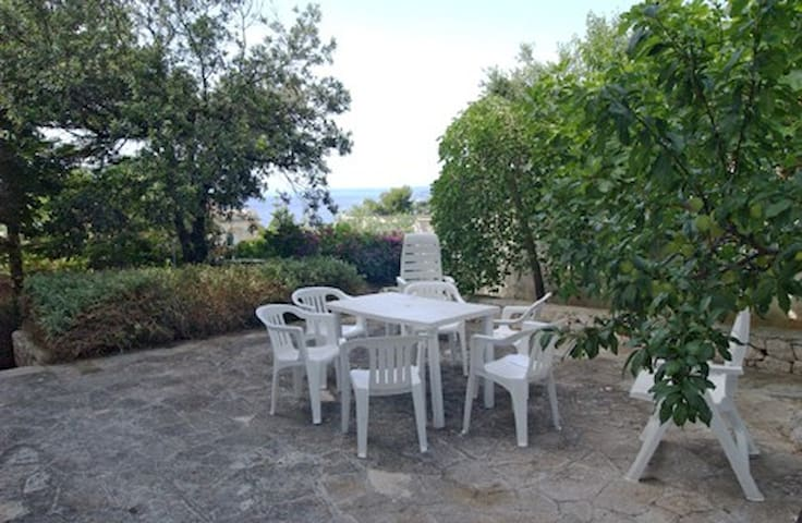 Casa con giardino vista mare - Santa Cesarea Terme - Dům