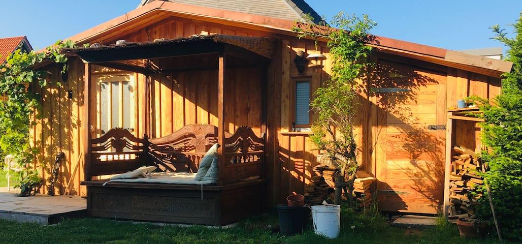 Charming little wood cottage including sauna