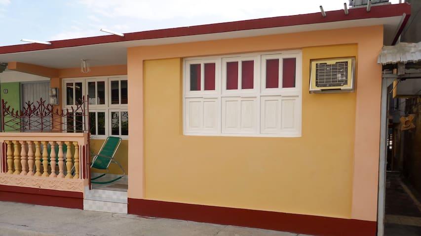 Yanieska's  house