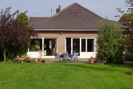 Calm and quiet house + big garden - Lanaken
