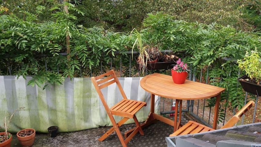 Großzügige Dachgeschoss-Wohnung mit Balkon 79 qm - Essen - Apartment
