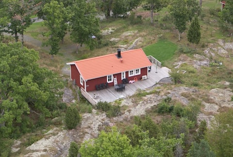 Private location in Tjust archipelago