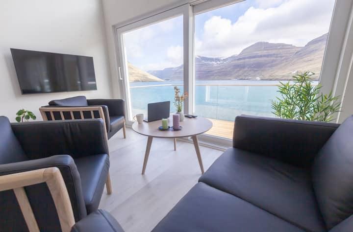 Luksuriøst panorama bådhus 2