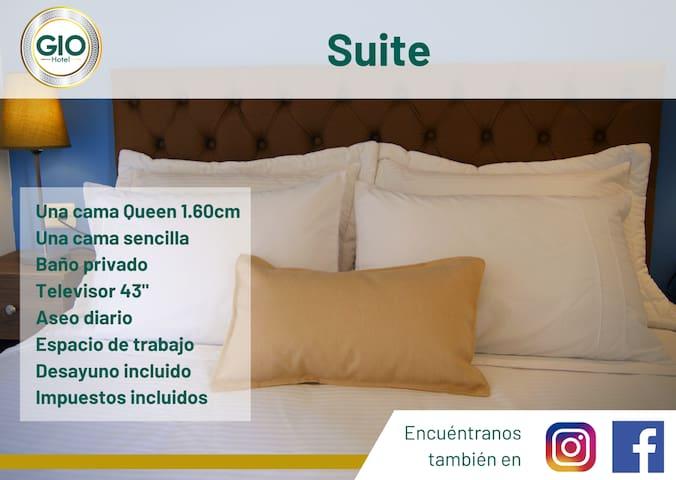 Habitación suite en Hotel Gio, Sonsón Antioquia