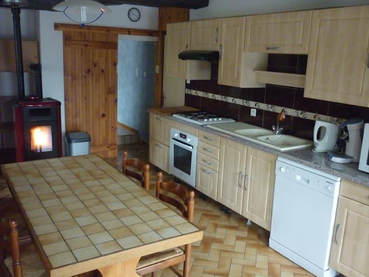 Appartement 66 m2 dans maison de campagne