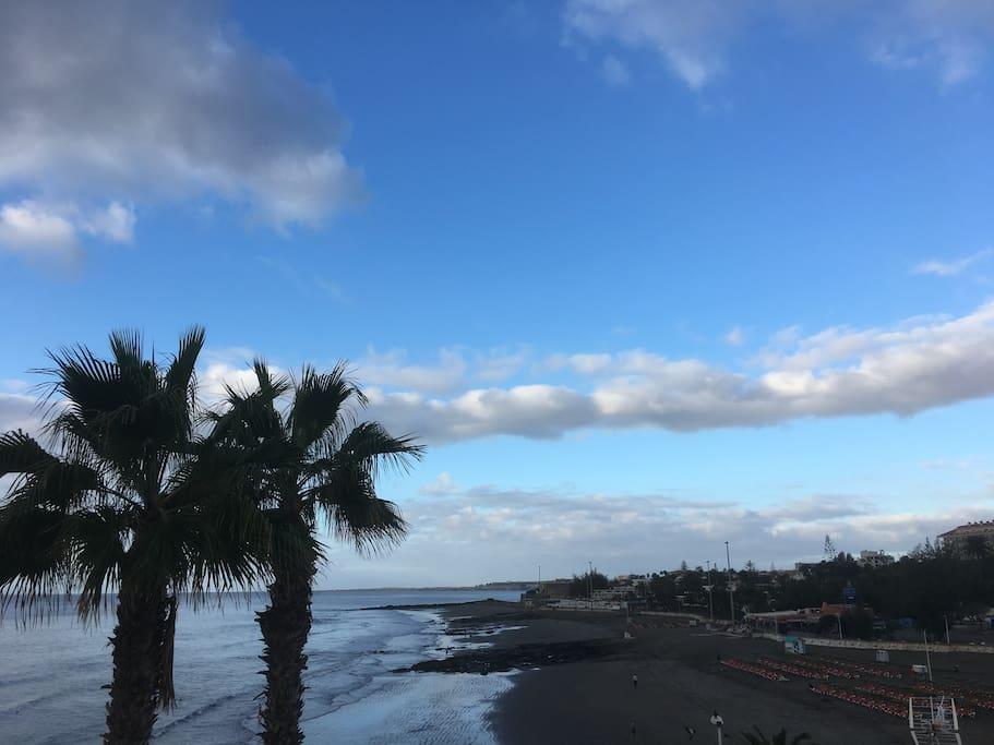 Early morning in San Agustín Beach