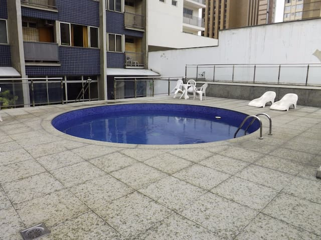 Brand NEW Studio + Wifi + TV and Pool - Belo Horizonte