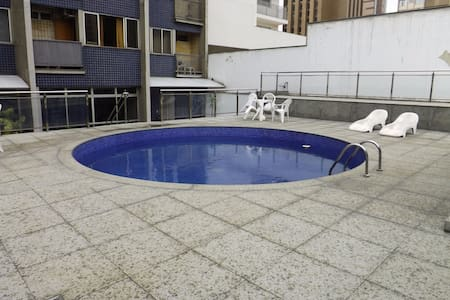 Brand NEW Studio + Wifi + TV and Pool - Belo Horizonte - Departamento