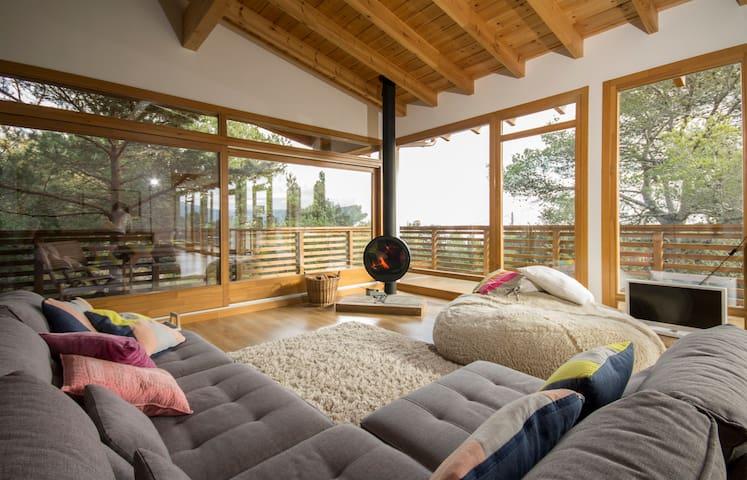 Cuarto 1 en la montaña,2 camas individuales.Vistas - Mont-ral - Haus