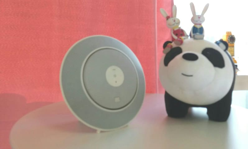 With  speaker~~music &